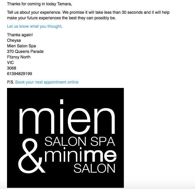 Mystery Shop Mien Salon And Spa Beauty Industry Community Beaute Industrie